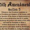 Understanding the 25th Amendment